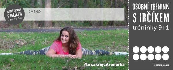 Irča Krejčí trenérka - trx, bosu, bodystyling, cvičení dětí, aerobik, osobní trénink